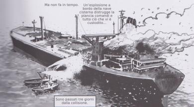 La tragedia della Moby Prince, un fumetto di Colarieti e Vivaldo scava tra i misteri del caso